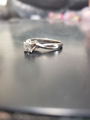 14 k 1/2 Ct. princess cut diamond solitaire engagement ring for Sale in Rocklin, CA