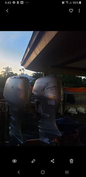 Pair of honda 45hp motors running! for Sale in Port St. Lucie, FL