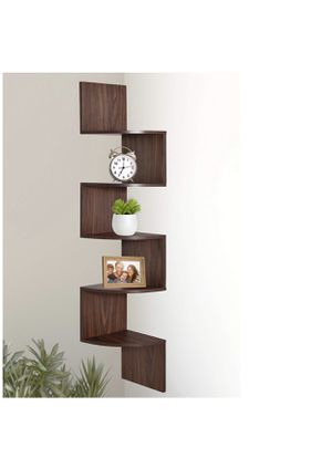 Corner Shelf Storage Wall Mount Furniture Office Bedroom Household Livingroom Clock Painting Plant for Sale in Chicago, IL