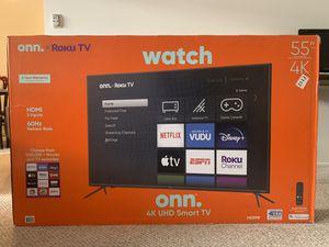 On. Roku TV - 55 inch. 4K UHD (2160p) for Sale in Santa Monica, CA