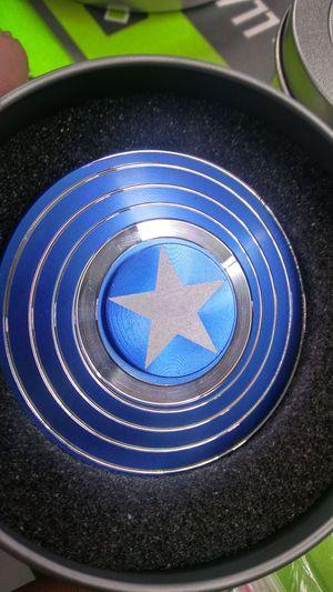 New Captain America Fidget Spinner New for Sale in Houston, TX
