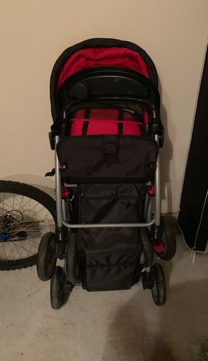 Barely used double stroller for Sale in Houston, TX