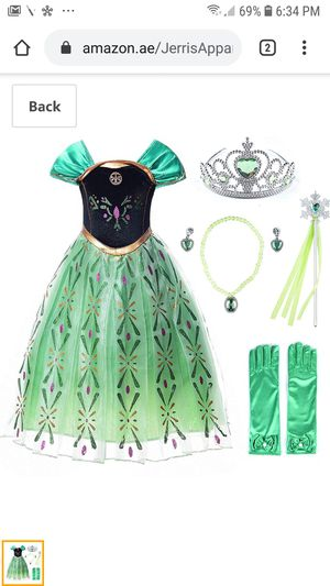 JarrisApparial snow party elsa dress for Sale in Lawndale, CA