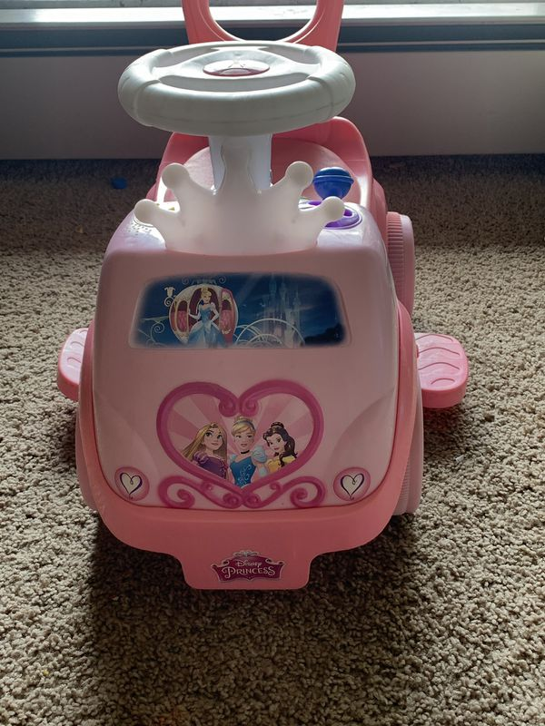 Disney Princess Ride on activity toy