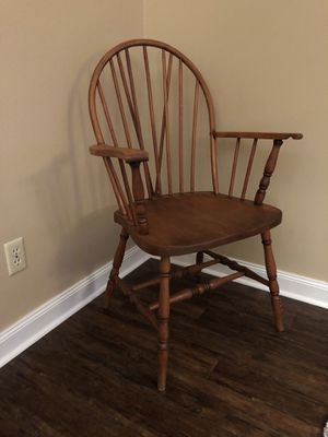Rustic Wood Chair for Sale in Toledo, OH