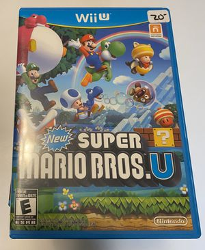 Nintendo Wii U New Super Mario Bros U for Sale in Carpentersville, IL