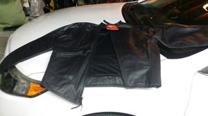 Brand new airtronic leather motorcycle jacket for Sale in Westminster, CA