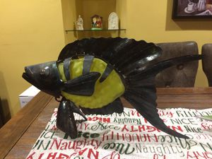 Beautiful Light Sculpture Fish Decor Lamp for Sale in San Jose, CA