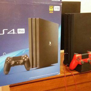 PlayStation 4 Pro Bundle for Sale in Hollywood, FL