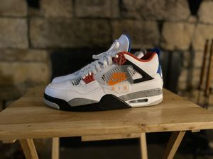 """🔌🔌 JORDAN RETRO 4 """" WHAT THE """" COLOR WAY DS SIZE 12 🔌🔌 💰 200 OBO 💰 for Sale in Denver, CO"""