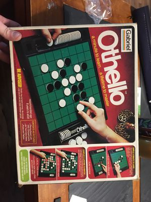 Vintage 1970's Gabriel Othello Board game # 76390 in original box for Sale in Wattsburg, PA