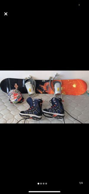K2 Snowboard with everything. for Sale in New York, NY