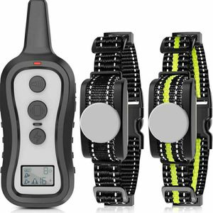 Dog Training Collar with 2 Receivers, Shock Collars for Dogs with Remote, Dog Shock Collar with Beep Vibration Shock for Small Medium Large 2 Dogs for Sale in Commerce, CA