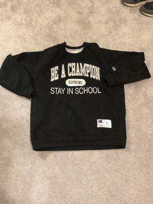 Supreme champion crewneck size large for Sale in Durham, NC