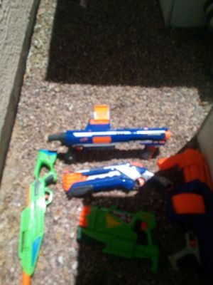 5 Nerf guns for Sale in North Las Vegas, NV