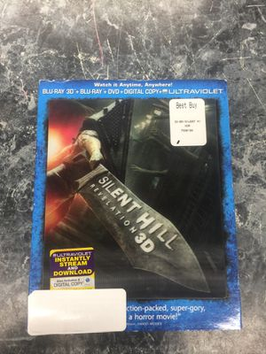 Silent hill revelation 3D blu Ray for Sale in Silver Spring, MD