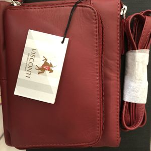 Visconti Red Sling Handbag Messenger Bag for Sale in Pompano Beach, FL