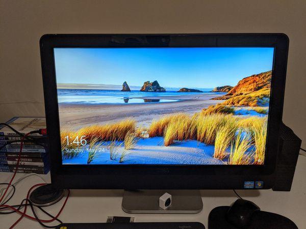 All in one Dell desktop