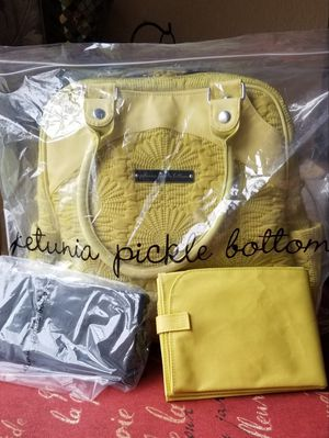 Embossed Petunia Pickle Bottom Diaper Bag/ Backpack for Sale in Tonto Basin, AZ