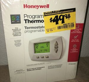 Programmable Thermostat - Honeywell for Sale in Fremont, CA
