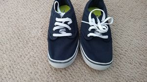 Faded Glory Brand Vans style boys shoes size 3 excellent condition for Sale in Anaheim, CA