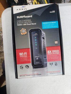 Surfboard cable modem & wifi router for Sale in Columbia, SC