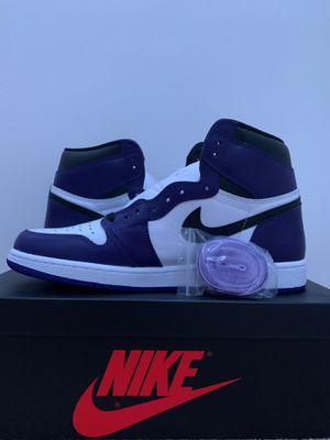 Air Jordan 1 Retro Court Purple Size 12.5 for Sale in Falls Church, VA