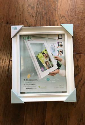 Frame 11x14 white for Sale in Rowlett, TX