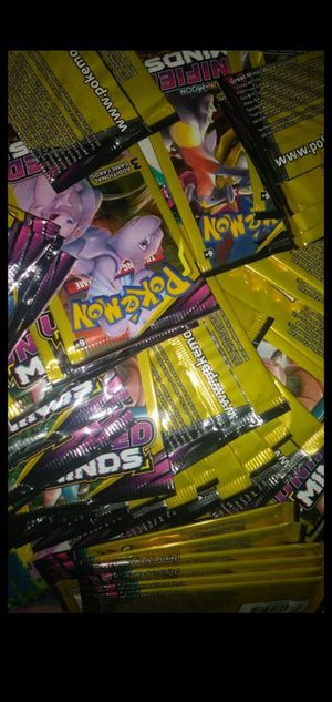 100 packs of Pokemon's unified minds for only $60 for Sale in Norfolk, VA