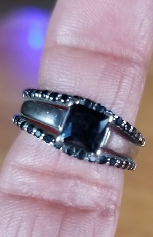 Black Diamond Wedding Set for Sale in Victoria, VA