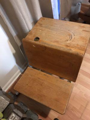 Antique school desk for Sale in Richmond Hill, GA