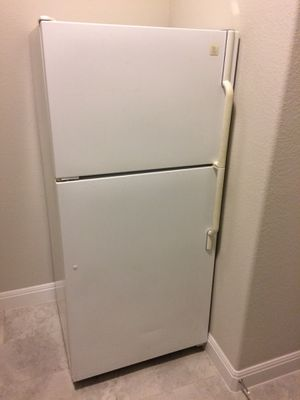Maytag upright Refrigerator and Freezer, hardly used for Sale in Sun City, TX