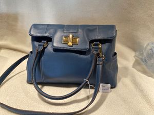 Blue Tignanello leather handbag. Never used. for Sale in Tempe, AZ