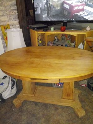 foyer table with drawer age unknown for Sale in Saint Joseph, MO