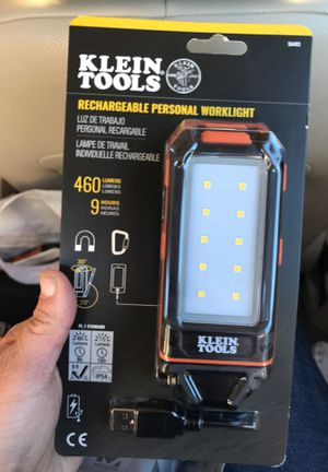 Klein tools rechargeable personal work light for Sale in Oakland, CA