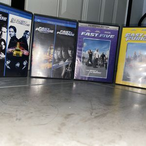 Fast and the Furious (1 -6) for Sale in Houston, TX