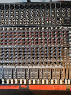Mackie CR1604 - VLZ. 16 channel mixing board. for Sale in West Valley City,  UT