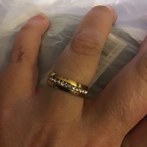 8 Circ Band Ring stainless steel for Sale in North Charleston, SC