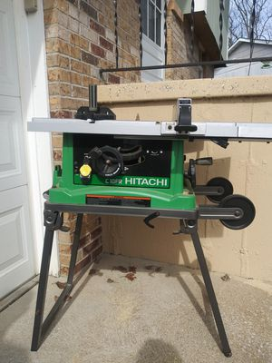 Hitachi table saw for Sale in House Springs, MO