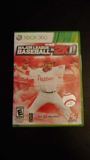 XBOX 360 Major League Baseball 2K11 Game Complete Working for Sale in Tacoma, WA