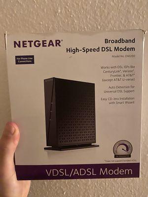 NETGEAR Broadband high speed DSL Modem for Sale in Eugene, OR