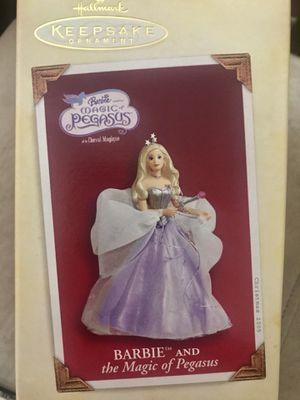 Hallmark Keepsake Barbie and the Magic of Pegasus Ornament for Sale in Saint CLR SHORES, MI