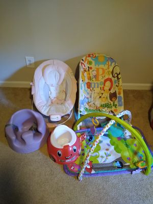 Baby Items - chair, Bumbo, potty for Sale in McDonough, GA