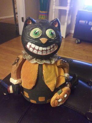 "10"" Vintage Halloween Cat W/ Pumpkin for Sale in Germantown, MD"
