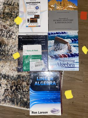 BRAND NEW SET COLLEGE TEXTBOOKS for Sale in Irvine, CA