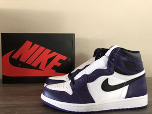 DS Jordan Retro 1 High OG Court Purple 2.0 for Sale in Eastvale, CA