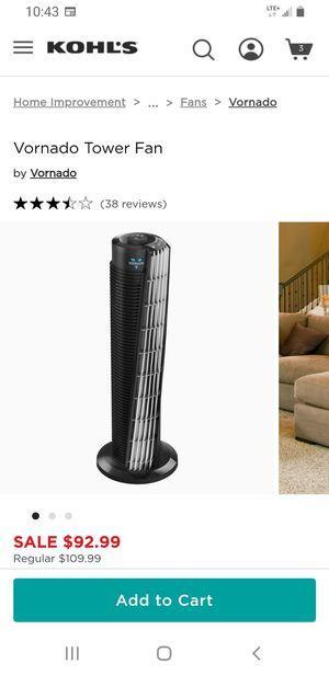 Tower fan ventilador for Sale in Wichita, KS
