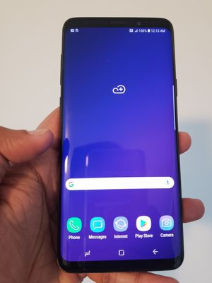 Samsung Galaxy S9 Plus , UNLOCKED for All Company Carrier ,  Excellent Condition like New for Sale in Springfield, VA