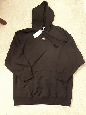 Adidas the originals oversized hoodie black for Sale in Alpharetta, GA
