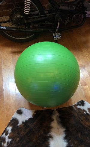 Big Green Workout Ball for Sale in San Francisco, CA